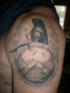 Helmet Tattoos, Designs And Ideas : Page 42