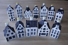 12 items of KLM houses including the latest house number 98