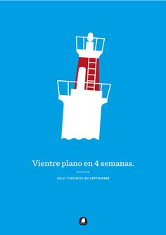 Surf Poster in Illustration