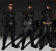 Arrow/Flash Concept: Batman by IronAvenger1234 on DeviantArt