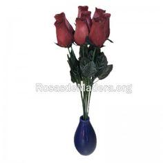 rosa-grande-marron Glass Vase, Home Decor, Wooden Flowers, Roses, Decoration Home, Room Decor, Home Interior Design, Home Decoration, Interior Design