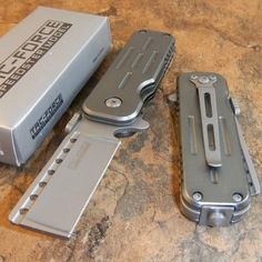 TAC-FORCE Spring Assisted Opening Razor Blade Glass Breaker Pocket Knife NEW | Collectibles, Knives, Swords & Blades, Collectible Folding Knives | eBay!