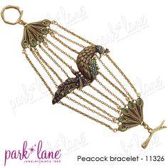 So lovely...Park Lane Jewelery Peacock Bracelet ...