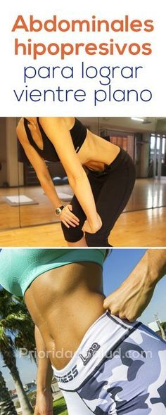 Ejercicios abdominales hipopresivos para lograr vientre plano rutina abdominales para perder la barriga The post Ejercicios abdominales hipopresivos para lograr vientre plano rutina abdominale appeared first on fitness. Fitness Goals, Fitness Tips, Fitness Motivation, Health Fitness, Keep Fit, Stay Fit, Pilates, Yoga For Weight Loss, Wellness