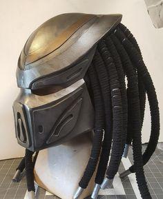 Xenomorph Costume, Predator Costume, Predator Helmet, Predator Action Figures, Mandalorian Cosplay, Mask Template, Skull Mask, Leather Mask, Cosplay Diy