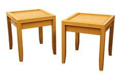 PAIR OF JIMECO LTDA FURNITURE SIDE TABLES Item #: 33857 $950.00