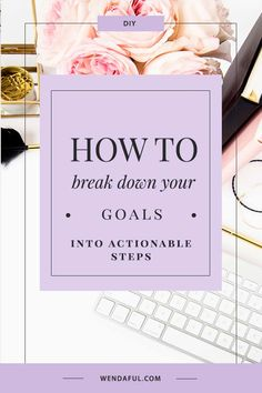 Breaking Down Your Goals into Actionable Steps Planner Printables and Productivity Tips Career Goals, Business Goals, Life Goals, Business Coaching, Life Coaching, Business Tips, Bookkeeping Business, Business Entrepreneur, Achieving Goals