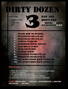 Dirty Dozen 3 - Bad 'Ass' Bootcamp