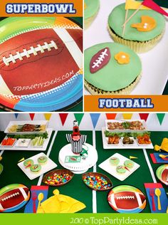 Family-Friendly Super Bowl Party Ideas on the Tinyprints Blog