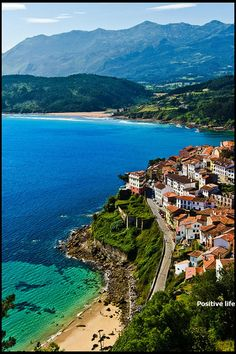 Spain would be nice. View from the San Roque viewpoint of the fishing village of Lastres, Asturias, Spain Beautiful Places To Visit, Wonderful Places, Beautiful World, Great Places, Santa Cruz Bolivia, Dream Vacations, Vacation Spots, Places To See, Oh The Places You'll Go