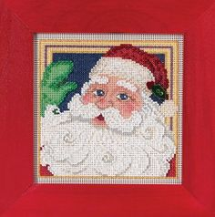 Mill Hill Buttons & Beads Winter Series Jolly ST. by DebiCreations