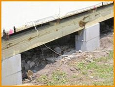 1000 ideas about foundation repair on pinterest for Cost to build pier and beam foundation
