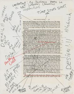 Coppola's notes from The Godfather.