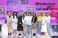"""""""Every day I look to our members and to our fans, ONCE, and I think to myself: 'this is why I am the member of Twice. Nayeon, South Korean Girls, Korean Girl Groups, Nct 127, Shinee, Solo Album, Signal Twice, Got7, Youtube Original"""