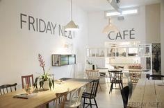 Friday next cafe, lunchroom, vintage, secto, fritz hansen, conceptstore, amsterdam