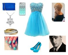 Prom with Kendall by harrystylesandliampayne on Polyvore featuring mode, Express, MaBelle and NESSA