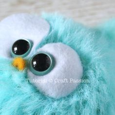 Have you ever wanted the little offspring of Angry Bird? Here is the free crochet pattern to make the adorable fur bird amigurumi, by using eyelash fur yarn – Page 2 of 2