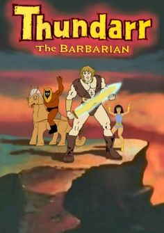 Thundarr pictures | The Complete Thundarr the Barabarian is available at WB Archive ...