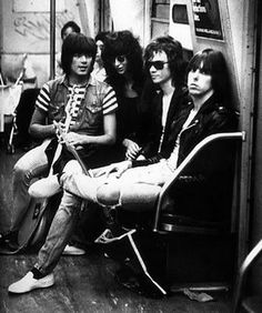"""Learn all about the Ramones in the book;  """"ON THE ROAD WITH THE RAMONES"""". Throughout the remarkable twenty-two-year career of the Ramones the seminal punk rock band, Rock 'n' Roll Hall of Famers and Recording Academy Grammy Lifetime Achievement Award winners Monte A. Melnick saw it all. He was the band's tour manager from their 1974 CBGB debut to their final show in 1996. . Full of insider perspectives and exclusive interviews and packed with over 250 personal color photos."""