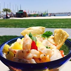 #NationalCevicheDay should really be an observed holiday. First up, shrimp ceviche!  # #OceanaCoastal