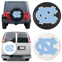 [[start tab]] Description The University of North Carolina Tar Heels Tire Cover will look great covering your spare tire. It is hand-made in the USA using the finest commercial grade vinyl and utilizi