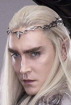 Lee Pace as Thranduil! Lee Pace Thranduil, Legolas And Thranduil, Thranduil Cosplay, Tolkien, Supernatural Drawings, Elf King, Forest Elf, King Of My Heart, Ethereal Beauty