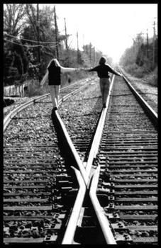 what a beautiful picture of friendship and how two people can still have a connection even if they are on different tracks and different beliefs.