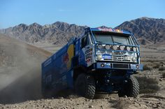 Ilgizar Mardeev of team Kamaz competes in stage 12 from Fiambala to Copiapo during the 2013 Dakar Rally on January 17, 2013 in Fiambala, Argentina.