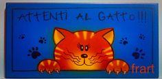 Attenti al gatto Aerografia Frart 2016