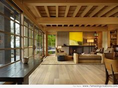 Wooden House Interior Designs