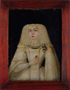 Retrato de uma freira, séc XVII. Museu Nacional Arte Antiga