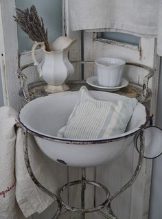 french brocante  ✿⊱╮X ღɱɧღ || Chateau Chic: Ironstone and a Giveaway