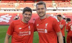 Steven and Simon Captain & Goalkeeper. Stevie G, Steven Gerrard, Goalkeeper, Liverpool Fc, Polo Shirt, T Shirt, Polo Ralph Lauren, Mens Tops, Fashion