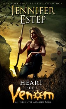 Heart of Venom (Elemental Assassin #9) by Jennifer Estep. Art by Tony Mauro. Expected publication: August 27th 2013 by Pocket Books