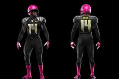 The Oregon Ducks wore football uniforms with special pink accents in their recent game against Washington State. The team wanted to show its support for breast cancer research during October's breast cancer awareness month. It is interesting to see a major sports team use their games for more than just sport, to help out others in some way. This may lead other teams to raise money for other causes. -Gordon S.