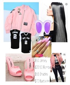 """$197.50 Spurs Game"" by crystalleal on Polyvore"