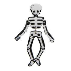 Erstwilder - Funny Bones Brooch