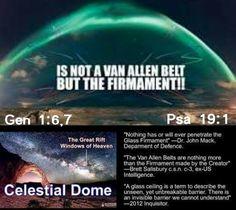 Flat Earth Firmament