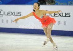 浅田が女子SP2位発進、リプニツカヤ首位 中国杯 国際ニュース:AFPBB News