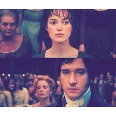 Both their lives, changed in a moment, in a look..... Pride   Prejudice (2005) #janeausten #joewright