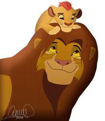 Father and son. on - Vater Lion King Series, The Lion King 1994, Lion King Fan Art, Hakuna Matata, Simba Rey Leon, Lion King Pictures, Le Roi Lion, Disney Lion King, Anime Furry