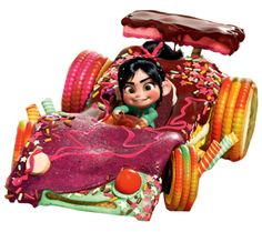 The Candy Kart is the current kart under the possession of Vanellope von Schweetz. Her previous...