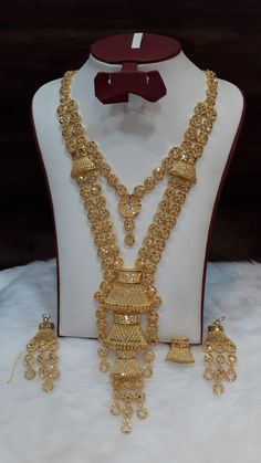 Gold Jewelry Simple, Simple Necklace, Cute Jewelry, Jewelry Sets, Bridal Jewelry, Gold Necklace, Bridal Jewellery Inspiration, Gold Jewellery Design, Afghan Clothes