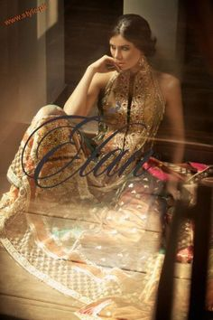 Latest Bridal Wears By Elan Couture 2012