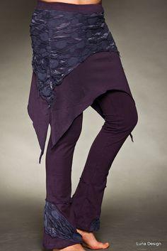 Double Layer Mesh Skirt