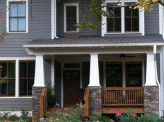 Same home in Decatur, closeup