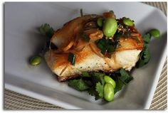 Asian style chilean sea bass that