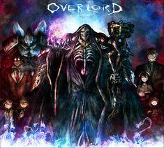 Overlord  Ainz Ooal Gown  Albedo  Aura Bella Fiora  Cocytus  Demiurge  Mare Bello Fiore  Sebas Tian  Shalltear Bloodfallen
