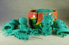 Hand Crocheted Statue of Liberty