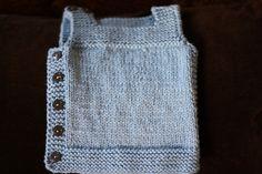 Pebble vest by Nikol Lohr (free pattern)